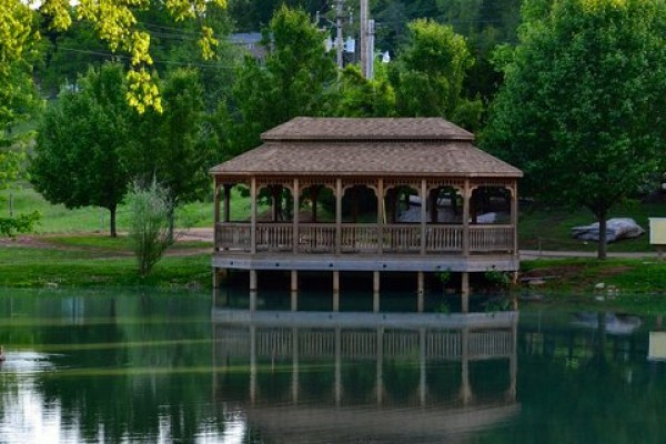 Fishing Ponds & Gazebo 1